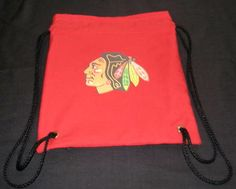 Chicago Blackhawks Birthday Party Favor Bag-Backpack
