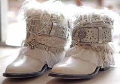 Bridal Boots for Bridal Guide Magazine from TheLookFactory on Etsy