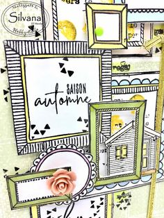 Saison Automne -Mini Scrapbook Journal, Scrapbook Albums, Scrapbooking, Paper Trail, Handmade Journals, Altered Books, Petra, Bujo, Mini Albums