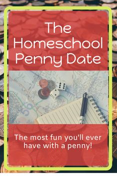 The Homeschool Penny Date - Grab the kids and head out for this came that becomes a field trip! Printable journal response pages available! Activities For Teens, Learning Activities, Penny Date, Homeschool Curriculum Reviews, Homeschooling, Learning To Relax, Study History, Writing Skills, Kids Playing