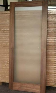 pre finished walnut shaker doors (frosted) - Mac\u0027s Warehouse Dublin & Salvaged Period 4P Door (Dipped) - Mac\u0027s Warehouse Dublin | Stuff to ...