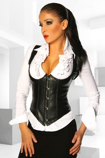 Westen Corsage Schwarz S-XL https://www.bommenprais.com/Fuer-Sie/Corsage-Korsett/Westen-Corsage-Schwarz-715.html