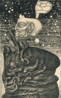 """6. """"Die Zeichen der Erlösung"""" - """"The Sign of Salvation"""" von Ernst Fuchs, Die Symbolik des Traumes"""