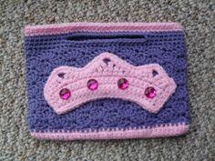 ♛ 👯 ♛ Princesa Mini Bolsa Crochetar Projeto -  /  ♛ 👯 ♛ Princess Mini Purse Crochet Design -