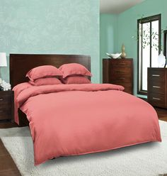 Buy luxury green bed linen online from By ADAB – This bed sheet is refreshingly delicate, cotton, made of 600 thread counts per inch, sweet green color.