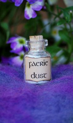 Faerie Dust wedding favors x 50 handfasting, garden wedding, faerie themed wedding. $87.50, via Etsy.