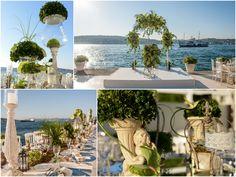 Working diligently for the wedding of Şölen and Ersegün, KM Events team once again created a fantastic atmosphere.           /              Şölen ve Ersegün'ün düğünü için titizlikle çalışan KM Events ekibi Ajia Otel'de bahçe teması uygulayarak muhteşem bir atmosfer yarattı.