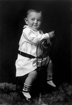 "Future US President Lyndon Johnson at 18 months old - A precocious young gentleman ~ Lyndon Baines Johnson ""LBJ"" ~ (August 27, 1908 – January 22, 1973) DEMOCRAT From Stonewall, Texas, He is one of only four people[1] who served in all four elected federal offices of the United States: Representative, Senator, Vice President, and President."
