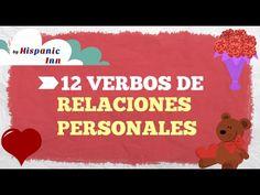 Verbos de Relaciones Personales en Español