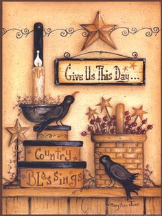 Give Us This Day by Mary Ann June art print