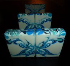 Butterfly swirl - CP soap