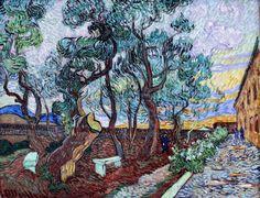 Chanson et Poésie — catmota: The Garden of St Paul's Hospital at St...