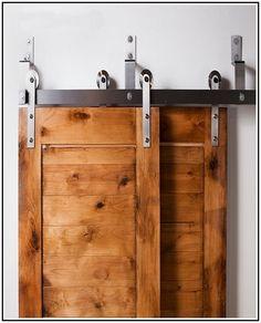 bypass barn door hardware kit
