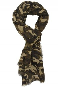 Fall 2013 Trend: Camouflage Scarf