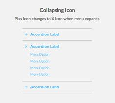 Where to Place Your Accordion Menu Icons - UX Movement