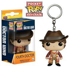 Doctor Who: Fourth Doctor Funko Pop! Keychain