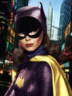 Batgirl Digital Art By Keith Atkins