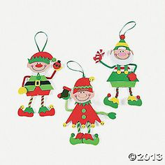 Make-An-Elf Christmas Craft Kit  CUTE