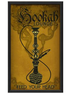 Hookah Lounge Yellow by The Artwork Factory at Gilt