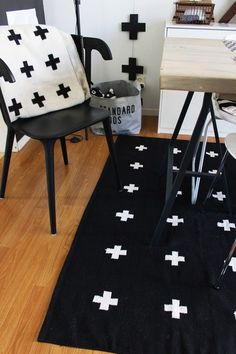 Via Inspiration & Design   Black and White   Nordic Scandinavian   Crosses