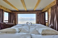 Beautiful and exclusive property on the ski slopes in Nendaz Chalets For Sale, Ski Slopes, Alps, Switzerland, Real Estate, Sleep, Mountains, Website, Bed