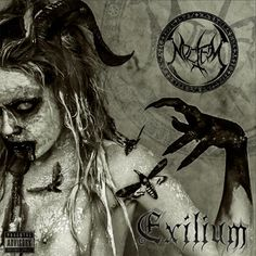 Extreme Metallers NOCTEM from Valencia, Spain have officially released through Art Gate Records their new album EXILIUM. The album release is also supported by Cd Artwork, Fantasy Witch, 2014 Music, Thrash Metal, Cool Things To Buy, Stuff To Buy, Death Metal, Macabre, Black Metal
