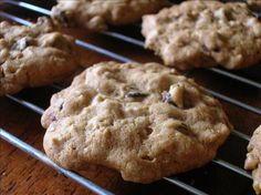 Chocolate Chip Oatmeal Cookies. Photo by Pam-I-Am