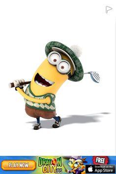 Do minions play golf? Well u tell me