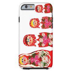 3 muñecas rusas BABUSHKA Funda Resistente iPhone 6