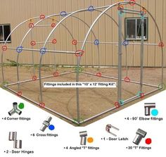 Urban Garden Design Greenhouse Fittings for tubing, DIY Greenhouse Fittings Greenhouse Film, Backyard Greenhouse, Greenhouse Plans, Small Greenhouse, Greenhouse Wedding, Homemade Greenhouse, Portable Greenhouse, Hydroponic Gardening, Organic Gardening