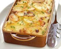 Gratin de poireaux et pommes de terre