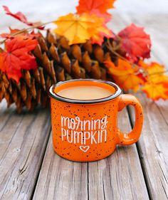Fall Mug Morning Pumpkin Orange Campfire Mug Autumn Mug - Halloween Makeup Autumn Coffee, Autumn Cozy, Autumn Quotes Cozy, Autumn Morning, Autumn Harvest, Autumn Aesthetic, Orange Aesthetic, Happy Fall Y'all, Happy Monday