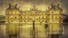 Luxembourg Palace Paris - Joan Carroll  Shop for this photo and more at my website at joan-carroll.pixels.com. All works available as a print, canvas, greeting card, pillow cover, tote bag, shower curtain, or phone case.  Thanks!