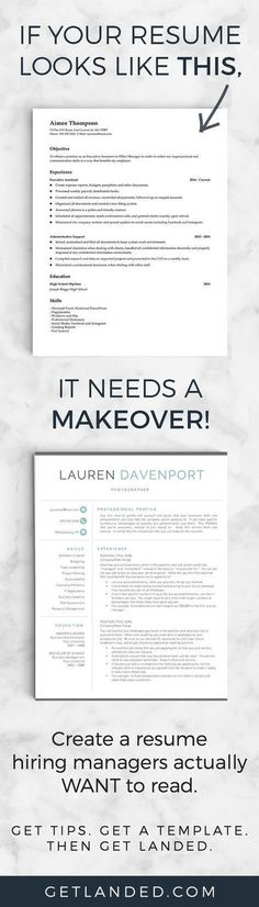 80% of candidates desperately need a resume makeover! Get a resume makeover today with a resume template and resume writing tips that will transform your resume into something hiring managers actually want to read! Job Resume, Resume Tips, Resume Ideas, Resume Help, Resume Examples, Acting Resume, College Resume, Cv Tips, Resume Layout