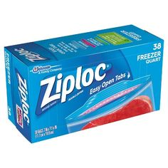 Ziploc Freezer Quart Bags