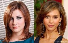 Corte de cabelo curto liso feminino