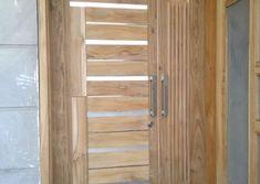 Homemade door design is or your luxury houses, you can choose fancy entrance doors prepared with glass grills or different framing. Door Design Photos, Home Door Design, Wooden Door Design, Main Door Design, Wooden Doors, Glass Panel Door, Glass Panels, Room Doors, Yui