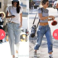 Kendall or Kylie Jenners style?  Click here to vote @ http://getwishboneapp.com/share/13493911