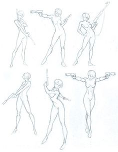 35 awesome gun pose reference images references in 2018 drawings