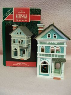 #7 1990 Hallmark Nostalgic Shops Houses Series  by FabVintageEstates