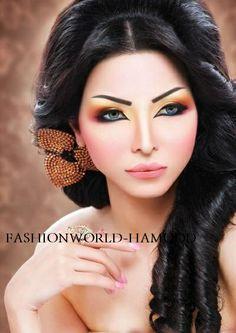 Fashion: Arabic Makeup 2013