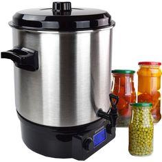Einkochautomat, Einkochtopf, Glühweinkocher Syntrox GK-2000W Digital, 27 Liter