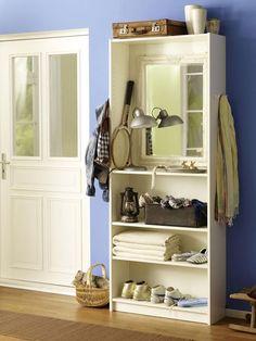 ankleidezimmer selber bauen ideen garderobe begehbarer kleiderschrank dachschr ge diy do it. Black Bedroom Furniture Sets. Home Design Ideas
