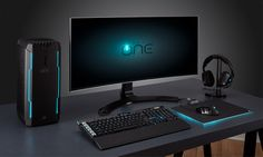 Portable Liquid-Cooled PC Consoles - The Corsair One Pro Compact Gaming PC Can Go with You Anywhere Office Setup, Pc Setup, Desk Setup, Gaming Setup, Liquid Cooled Pc, Compact, Pc Console, Pc Desk, Custom Pc