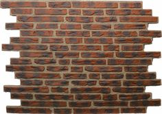 Claddit brick cladding panels are available in six unique brick styles, crafted and coloured to match natural brick exactly.