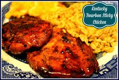 Sweet Tea and Cornbread: Kentucky Bourbon Sticky Chicken!