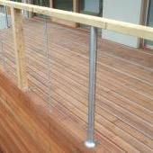 Stainless Steel Balustrade Hydraulic 6 Stainless Steel Balustrade, Backyard, Patio, Backyards, Stainless Steel Railing