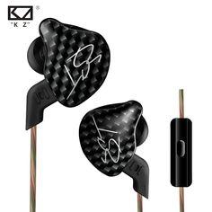 New KZ ZST In Ear Earphone 1DD With 1BA Hybrid Drive HIFI Earphone Running Sport Earphones Monito Earphone Earplug Headset