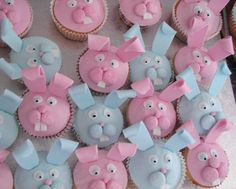 Easter ideas for cupcakes