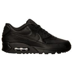 sports shoes 49d48 5bd65 The Men s Nike Air Max 90 Leather Running Shoes gets a premium leather  upper so its able to withstand the elements and go the distance with you.